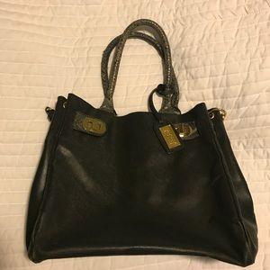 Black Badgley Mischka Handbag
